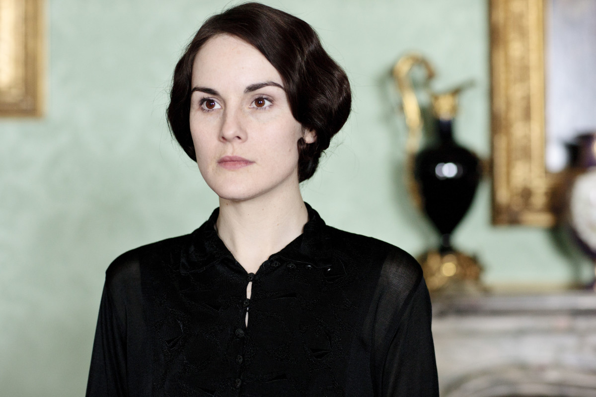 Downtown Abbey Michelle Dockery Season 5 Photo