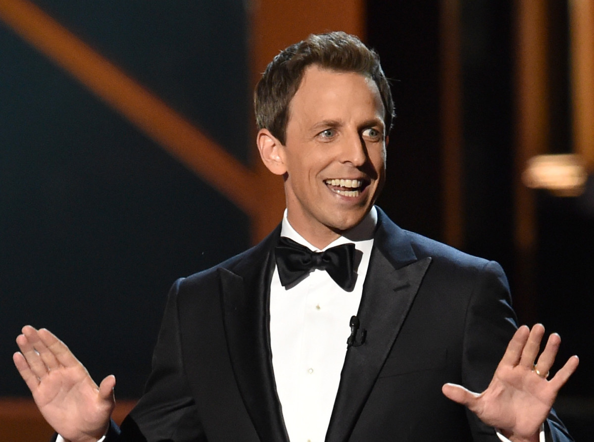 Seth Meyers Emmys 2014 Photo