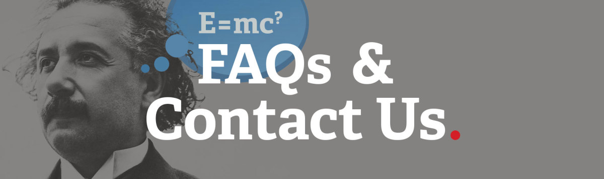 Contact Us and FAQ image