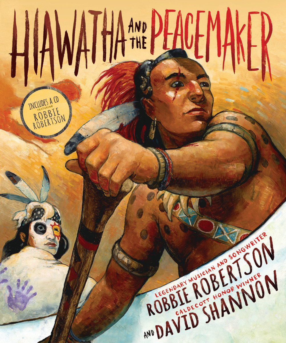 Robbie Robertson Hiawatha Book Cover Photo