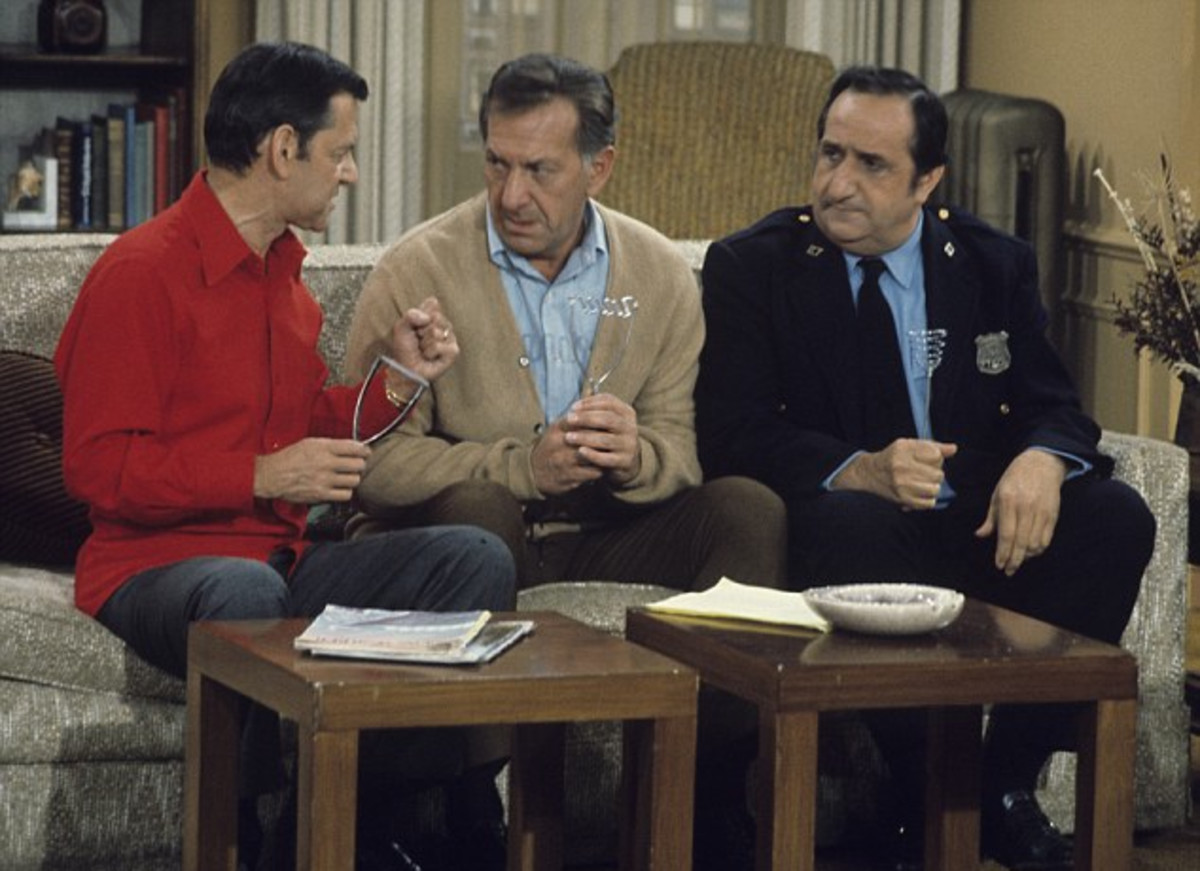Tony Randall Jack Klugman Al Molinaro Photo