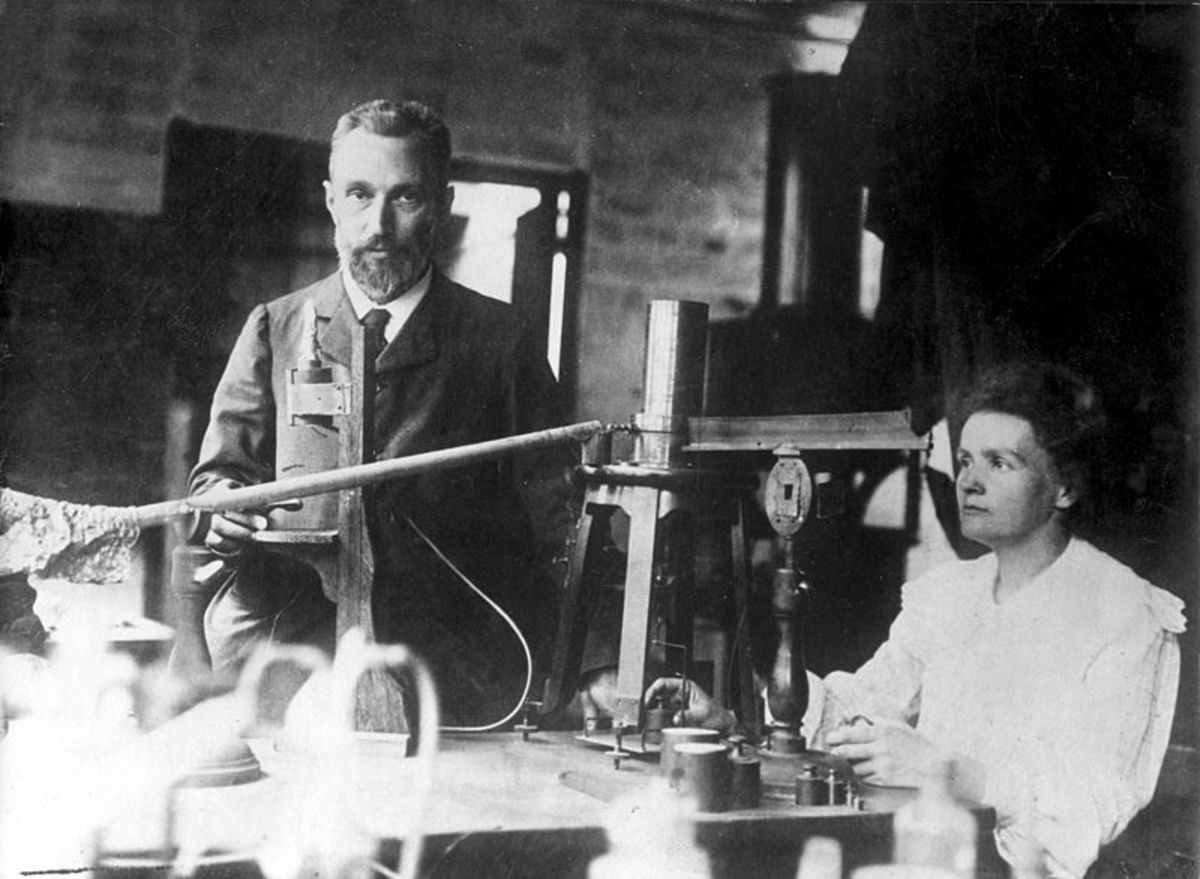 Pierre and Marie Curie Photo