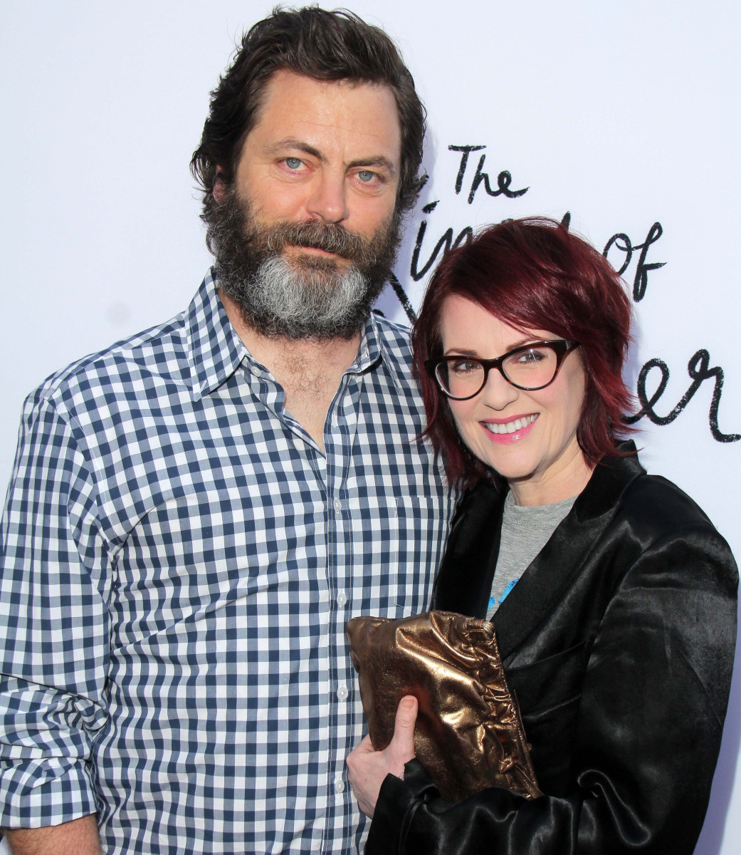 Nick Offerman Megan Mullally Photo