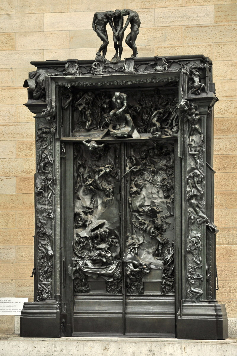 Gates of Hell Rodin Photo