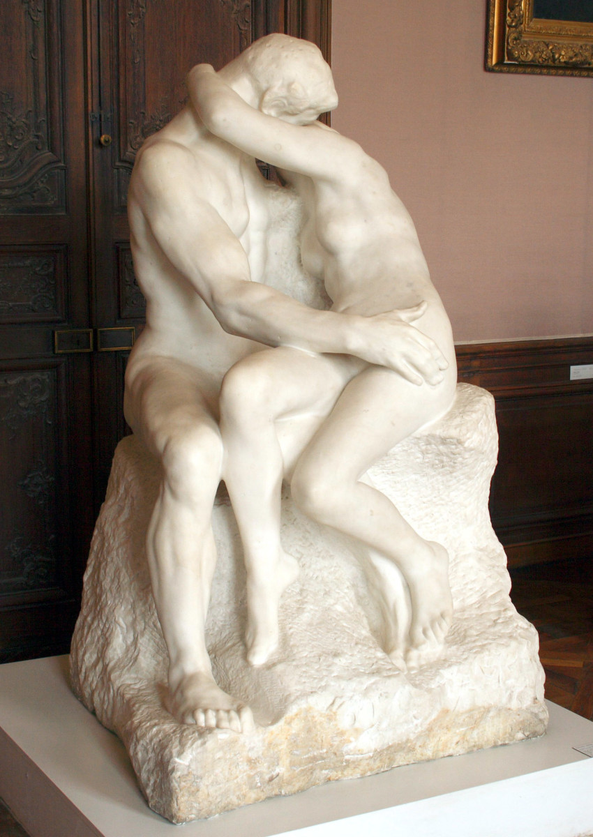 The Kiss Rodin Photo