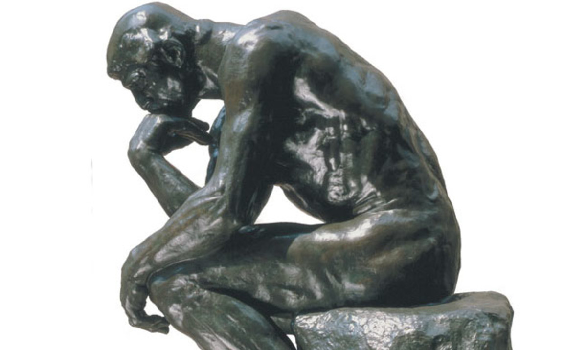 The Thinker Rodin Photo