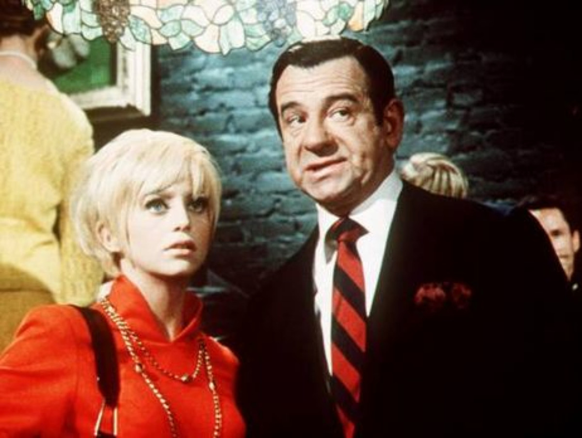 Goldie Hawn Walter Matthau Photo