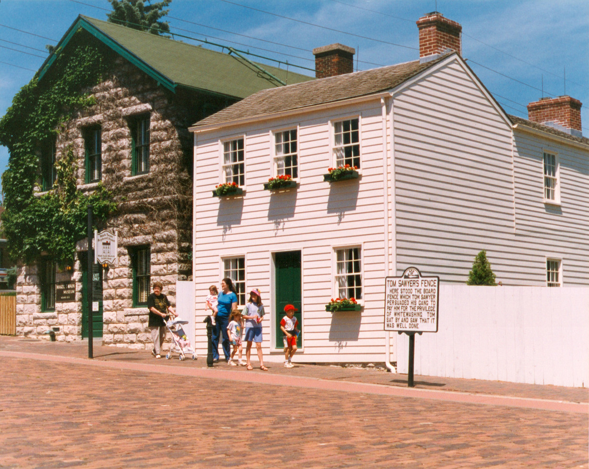 Mark Twain Boyhood Home Photo