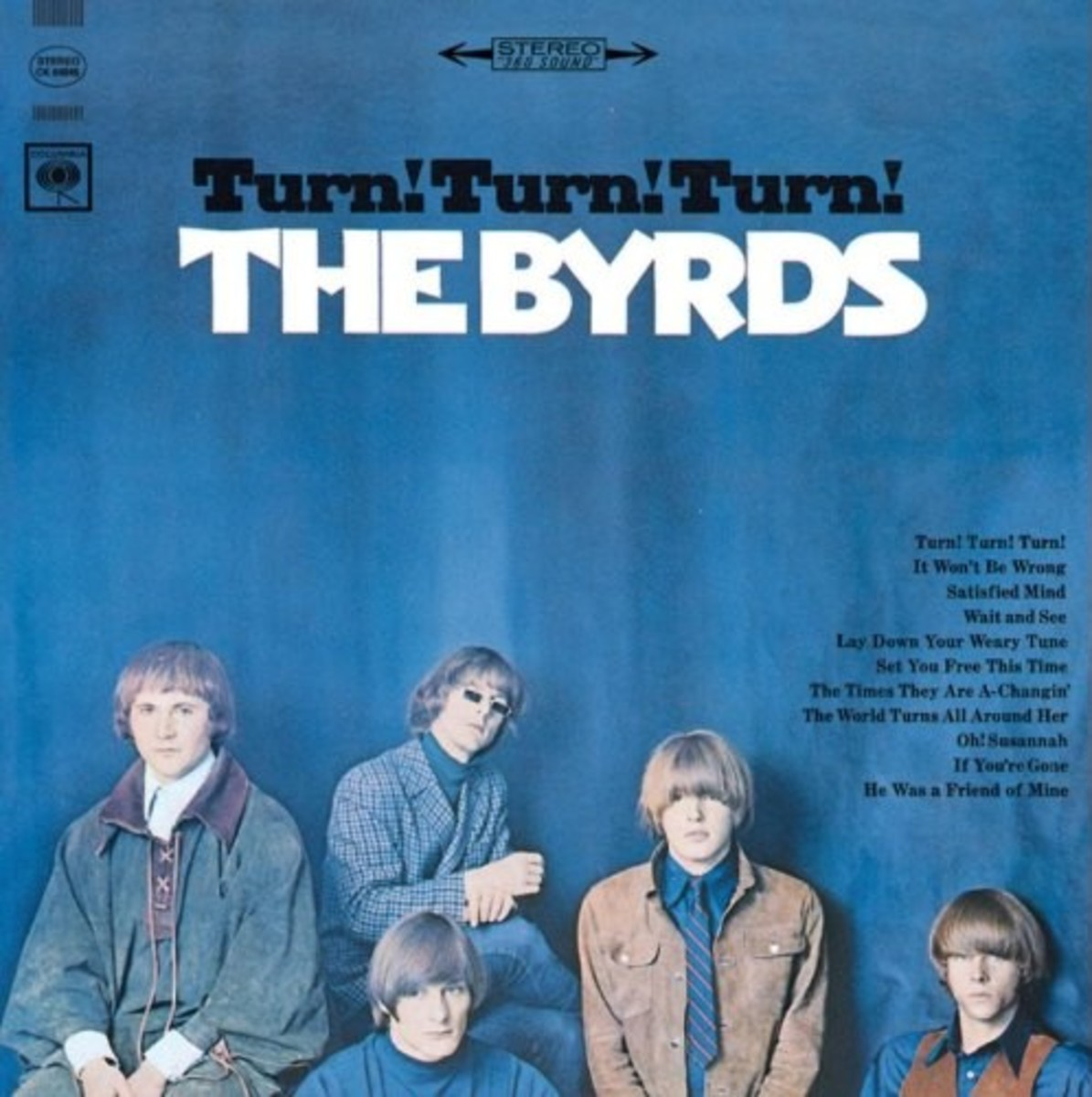 The Byrds Turn Turn Turn Album Cover Photo