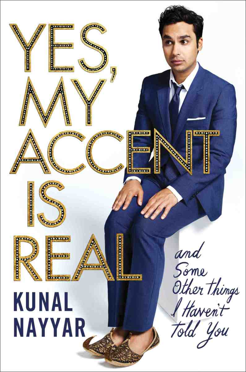 Kunal Nayyar book photo
