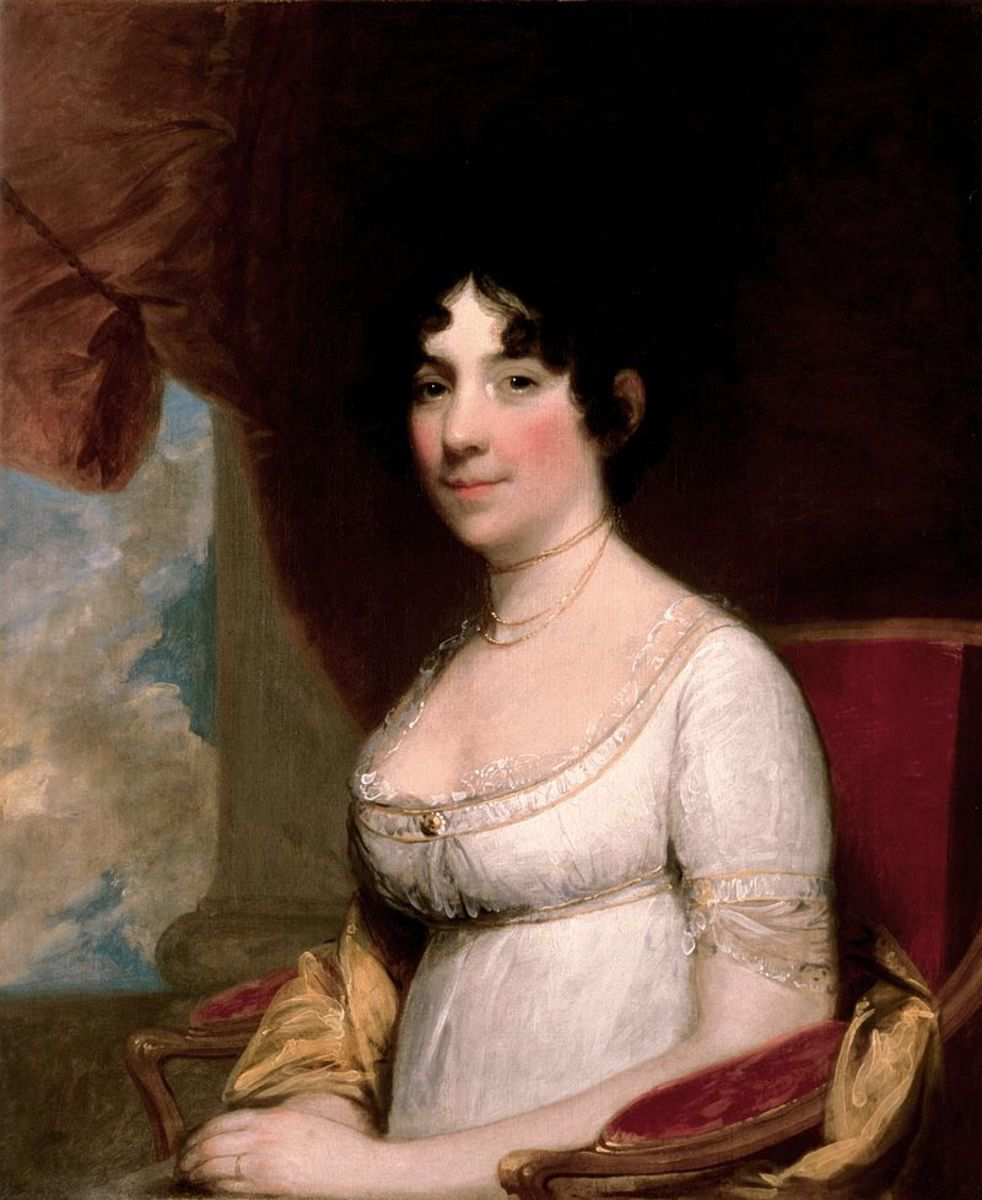 Dolley Madison Portrait Photo