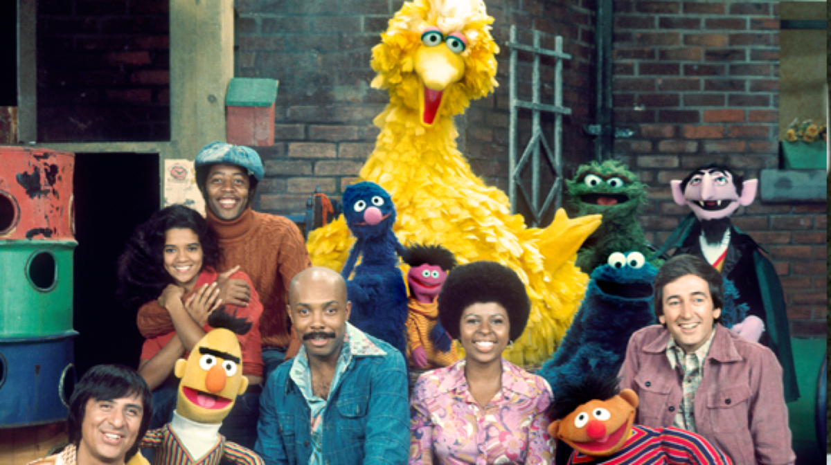 Image result for sesame street debut on pbs
