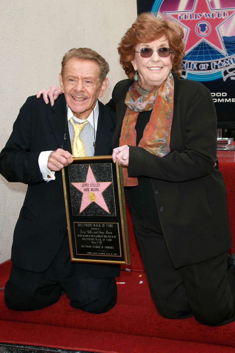 Jerry and Anne Meara Photo