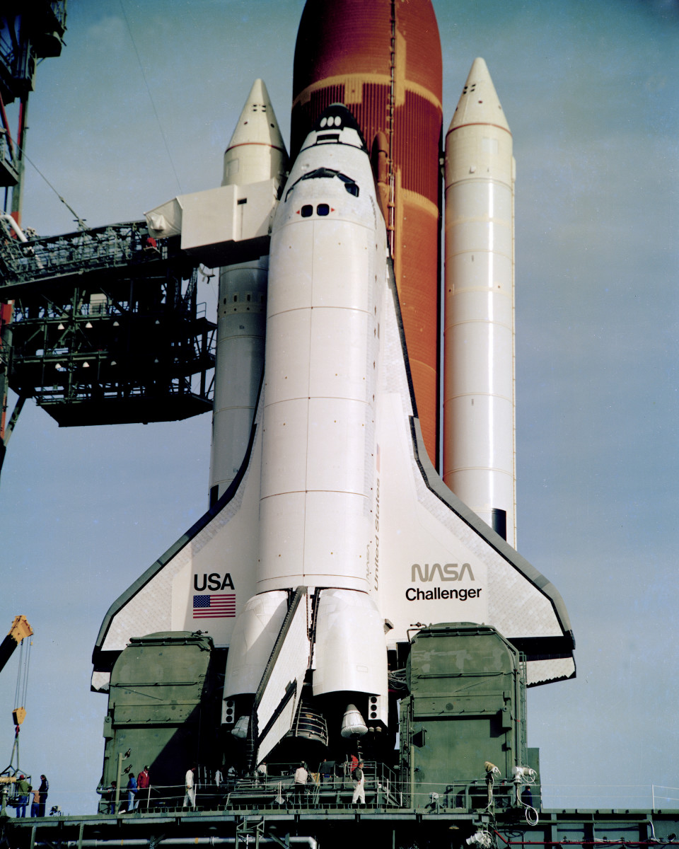 the challenger space shuttle mission - photo #4