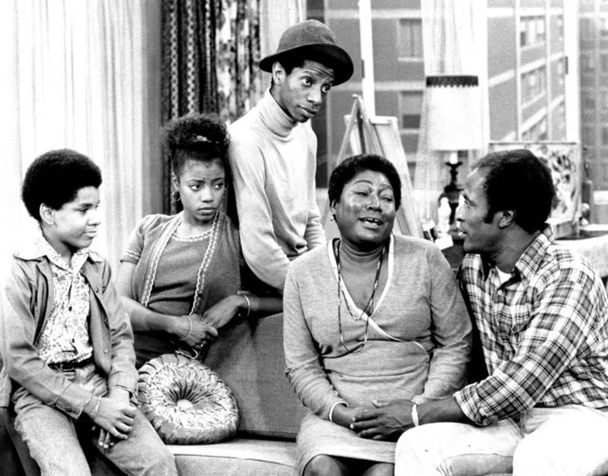 Cast of Good Times Photo