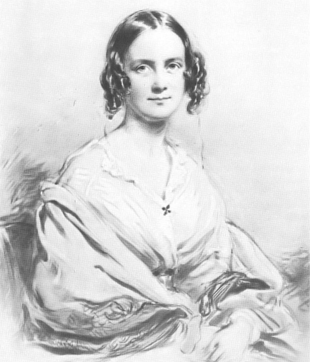 Charles Darwin Wife Emma Photo