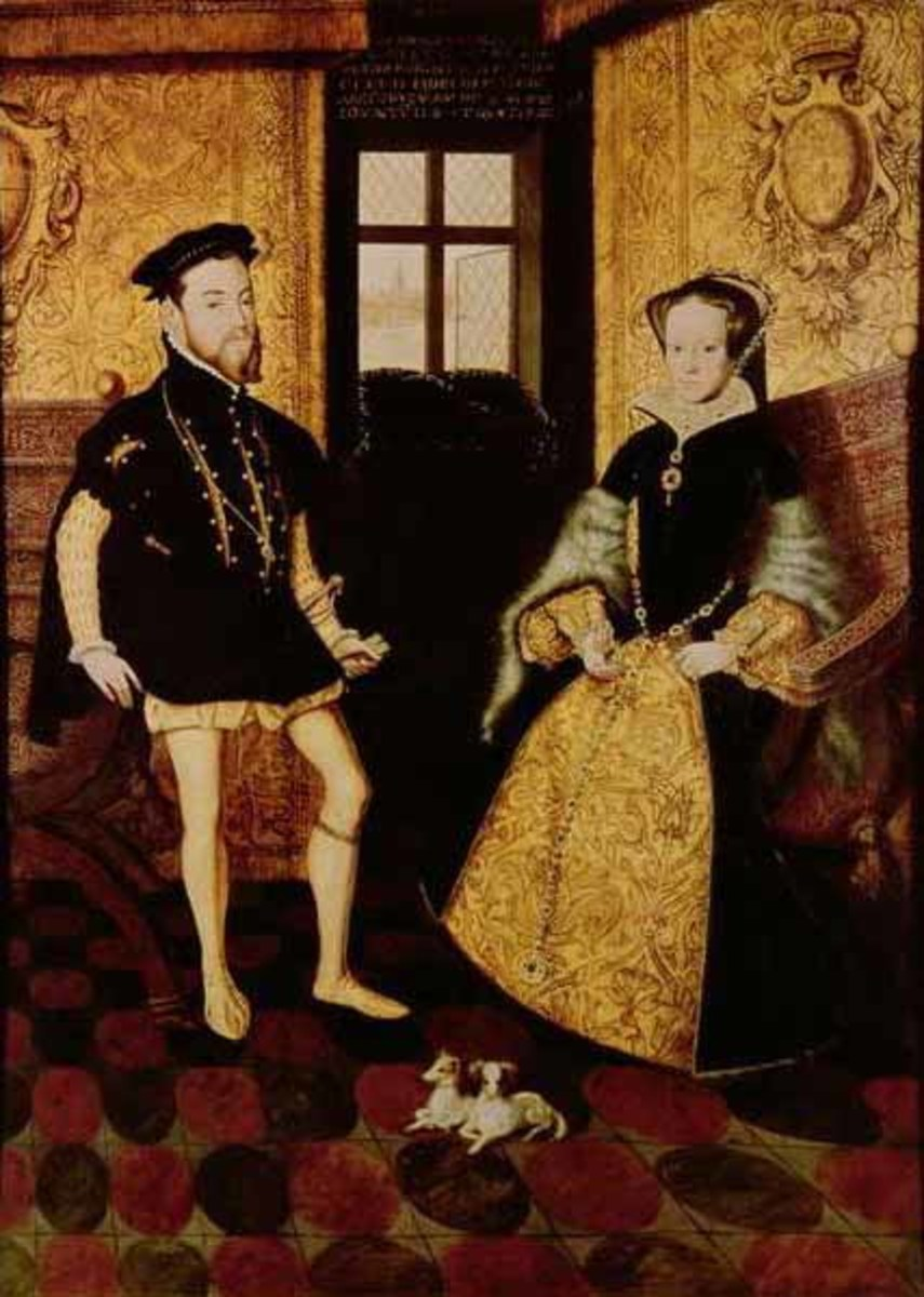 King Philip and Queen Mary Photo