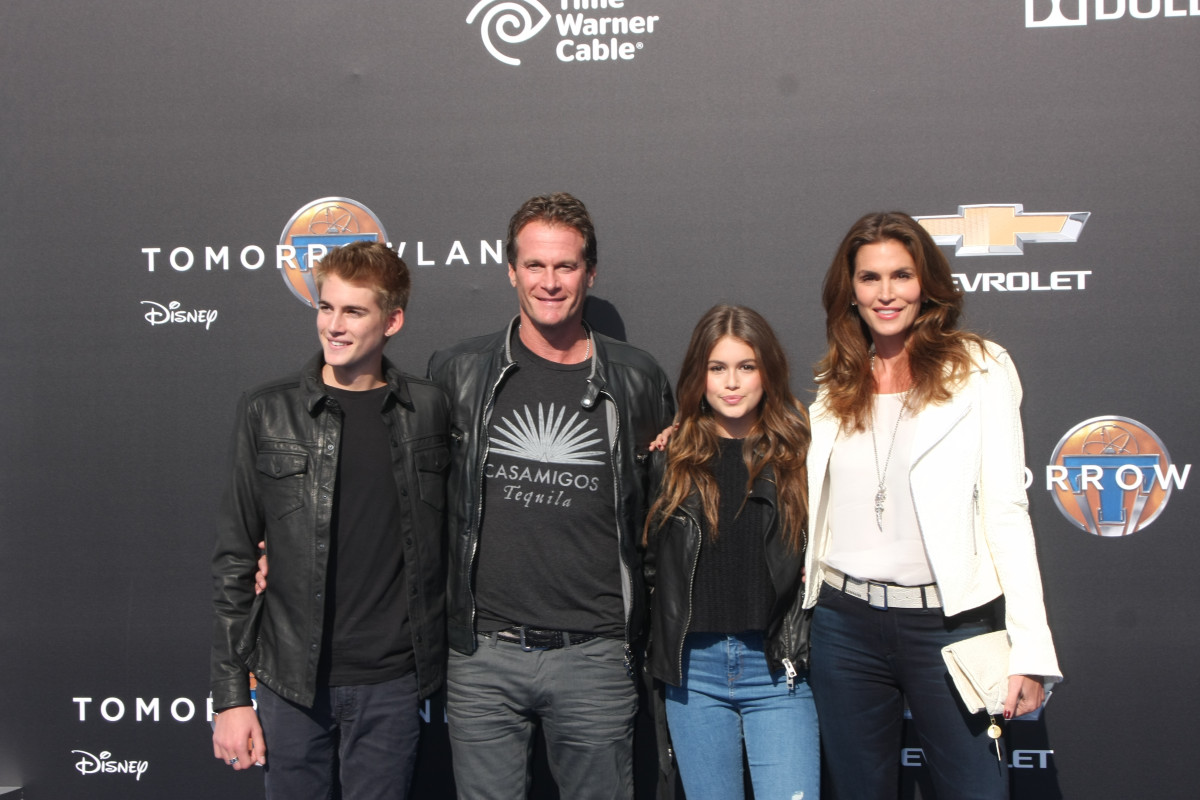 Cindy Crawford Family Photo