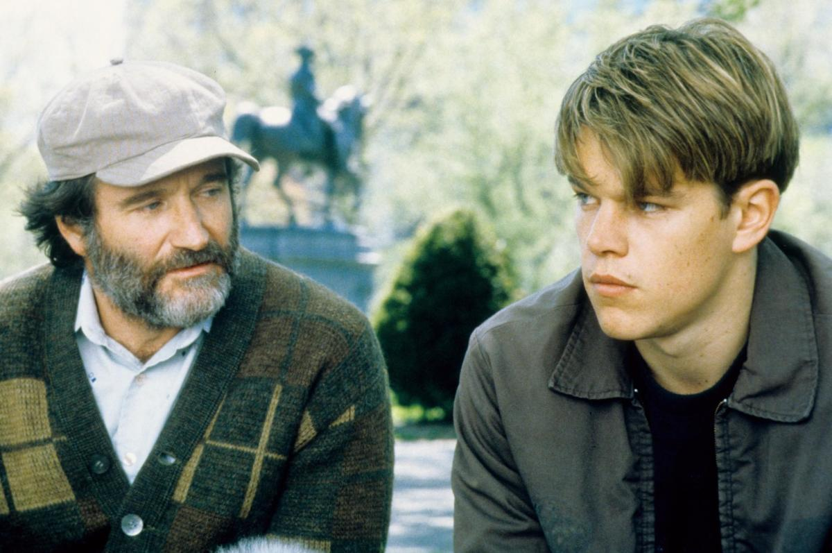 Robin Williams Matt Damon Photo