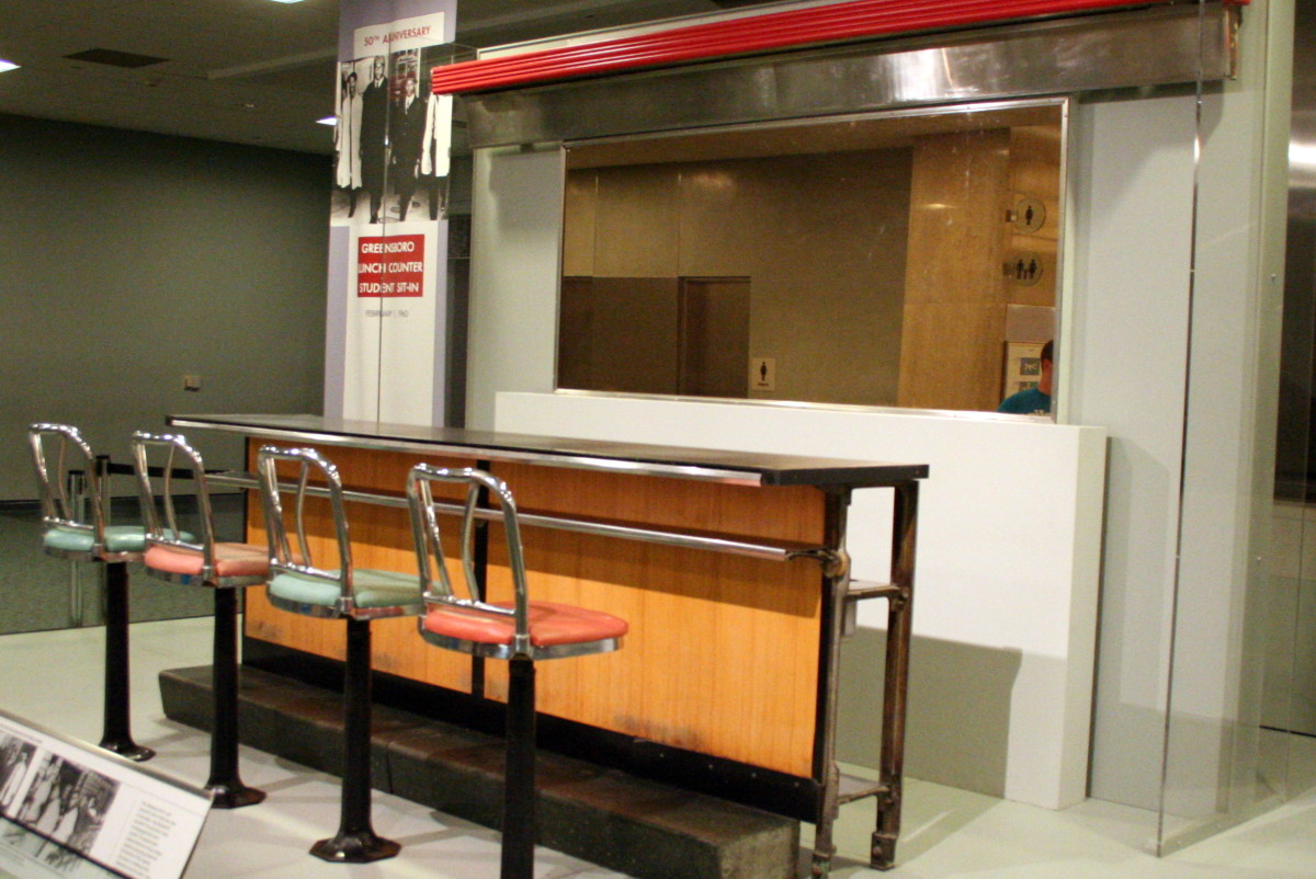 Greensboro Sit-In Lunch Counter Photo By RadioFan/Wikimedia Commons
