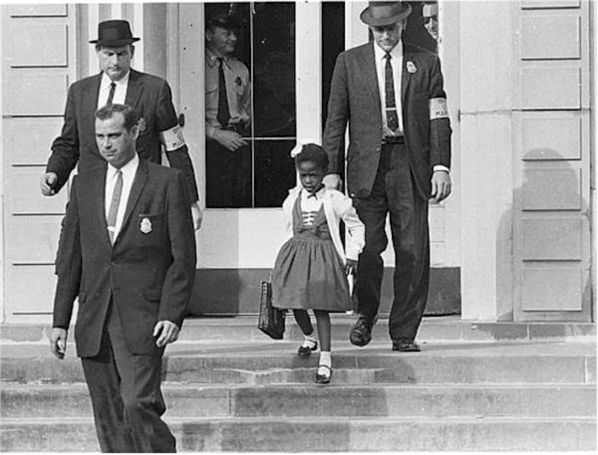 Ruby Bridges Photo Courtesy Department of Justice/Wikimedia Commons