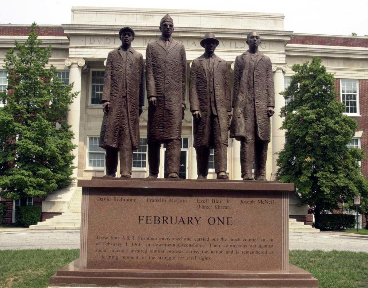 Greensboro Four Photo Courtesy Cewatkin/Wikimedia Commons