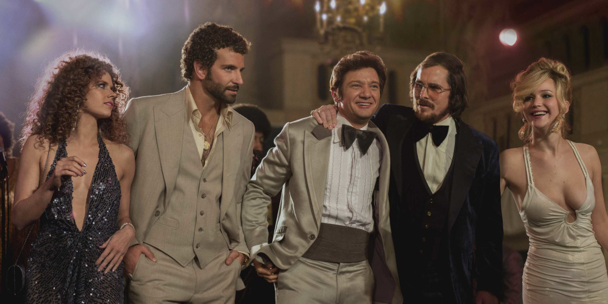 Cast of American Hustle Photo Courtesy Columbia Pictures