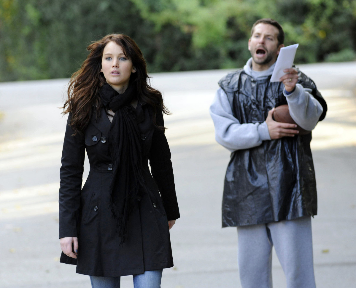Jennifer Lawrence Bradley Cooper Silver Linings Playbook Photo Courtesy Weinstein Company