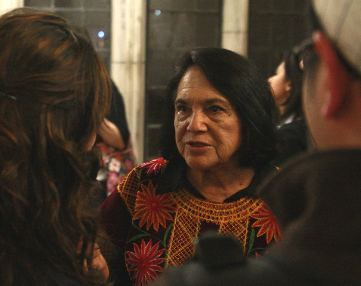 Dolores Huerta in 2009