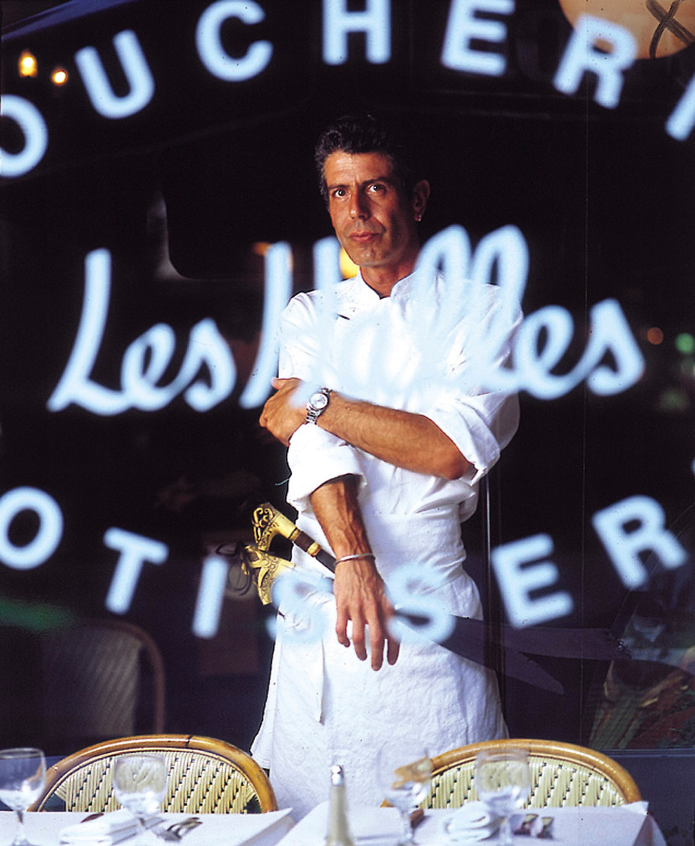 Anthony Bourdain Cover Art Kitchen Confidential Photo Courtesy Ecco/HarperCollins Publishers