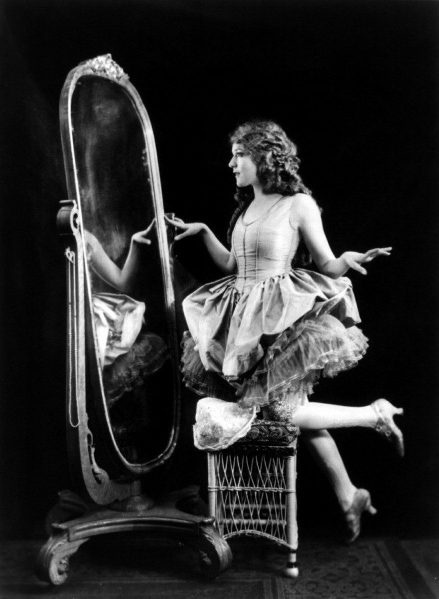 Mary Pickford Ziegfeld Photo