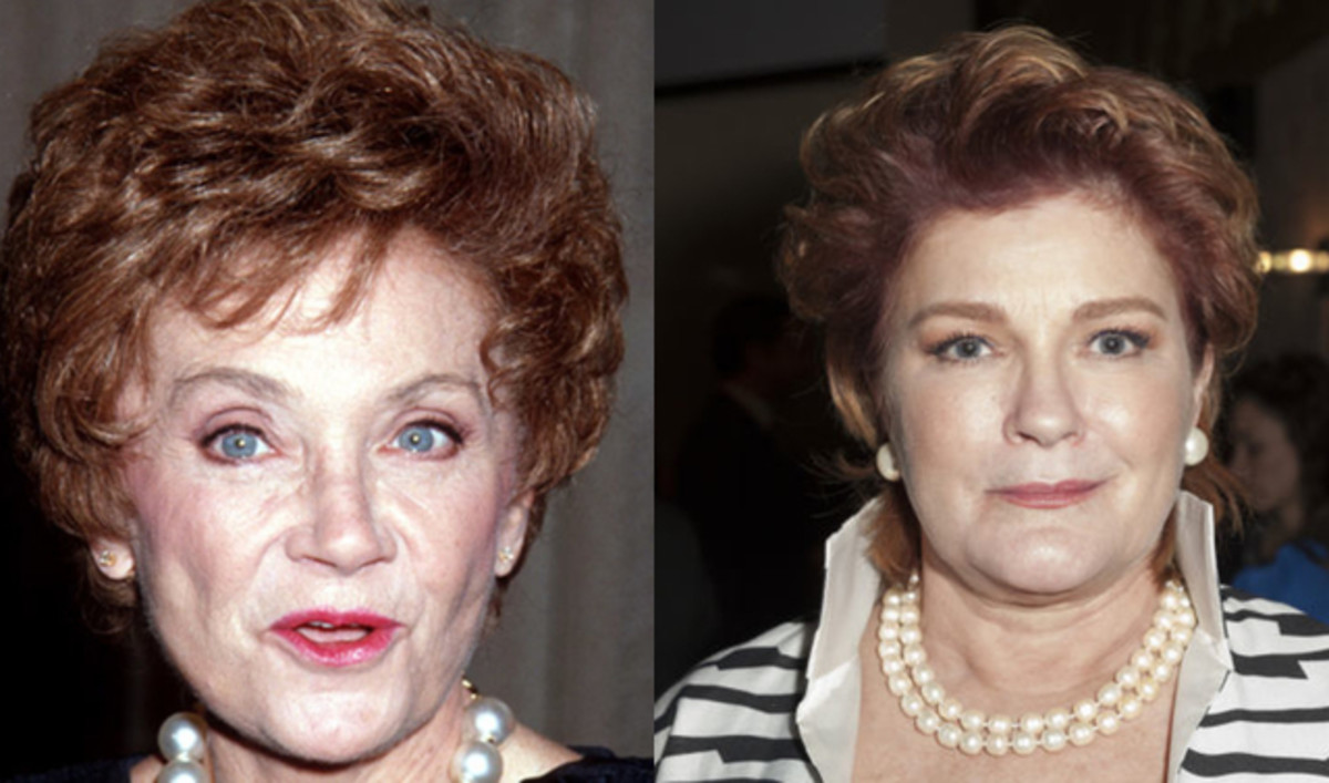 Estelle Getty Kate Mulgrew Photo