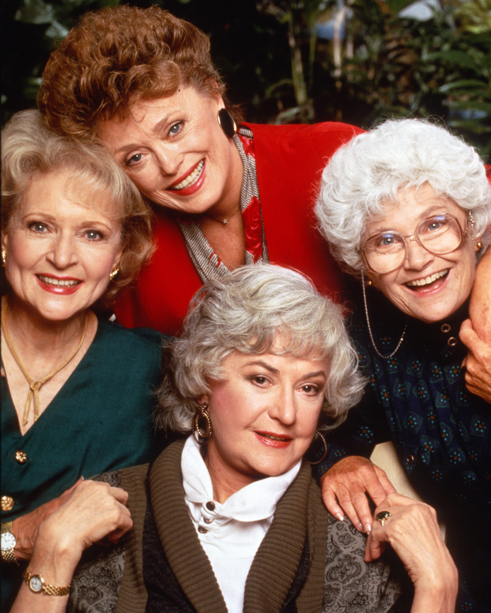 Golden Girls Cast Photo Courtesy NBC/Photofest