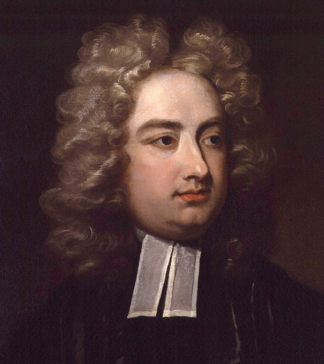 Jonathan Swift Painting By Charles Jervas via Wikimedia Commons