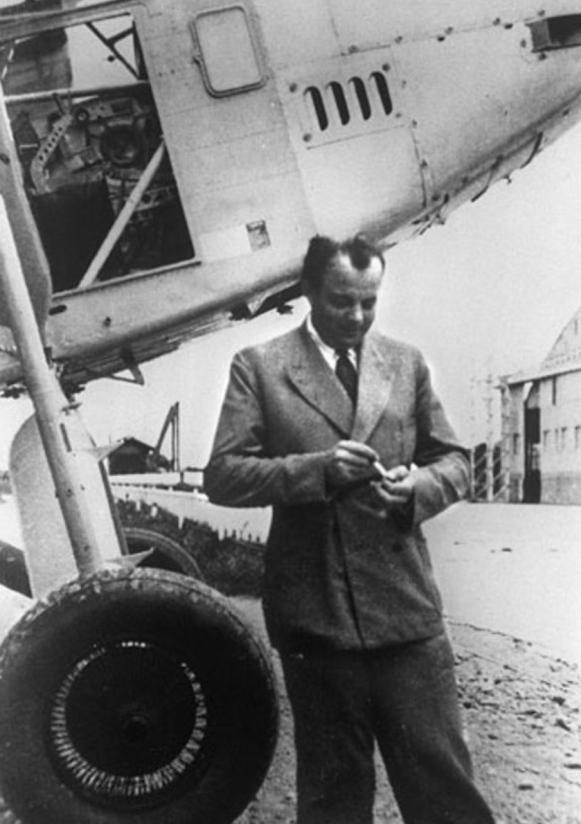 Antoine de Saint-Exupery Photo Distributed by Agence France-Presse via Wikimedia Commons
