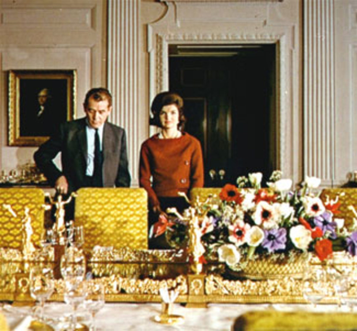 Jacqueline Kennedy White House Photo