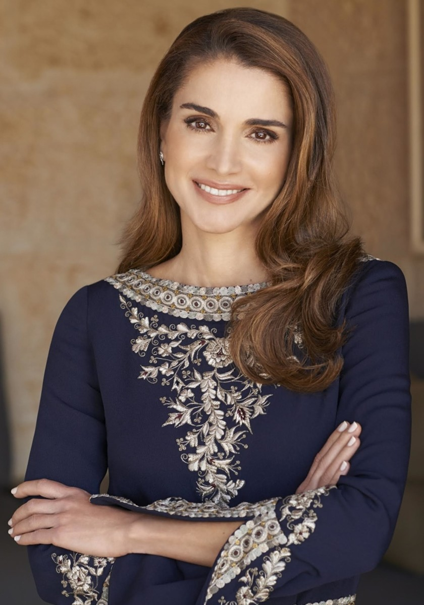 Queen Rania Photo Courtesy Of Office Her Majesty Al Abdullah