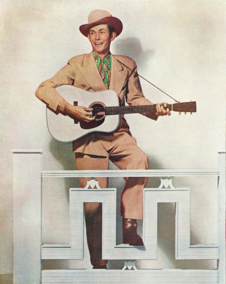Hank Williams Photo Courtesy MGM Records [Public Domain] Via Wikimedia Commons