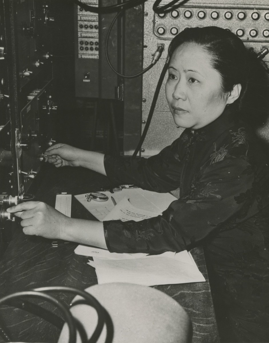 Chien-Shiung Wu Photo Courtesy Smithsonian Institution via Wikimedia Commons