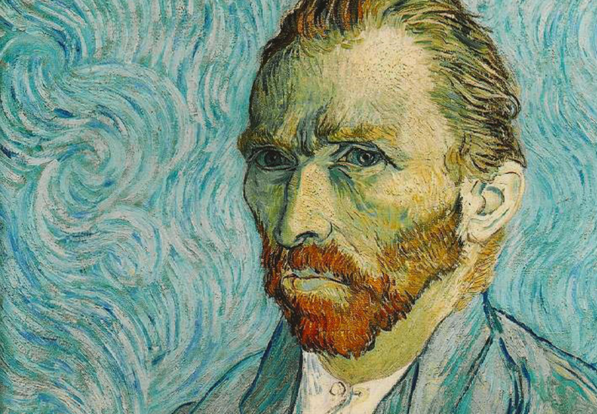 Vincent van Gogh Self-Portrait Painting Courtesy Musée d'Orsay via Wikimedia Commons