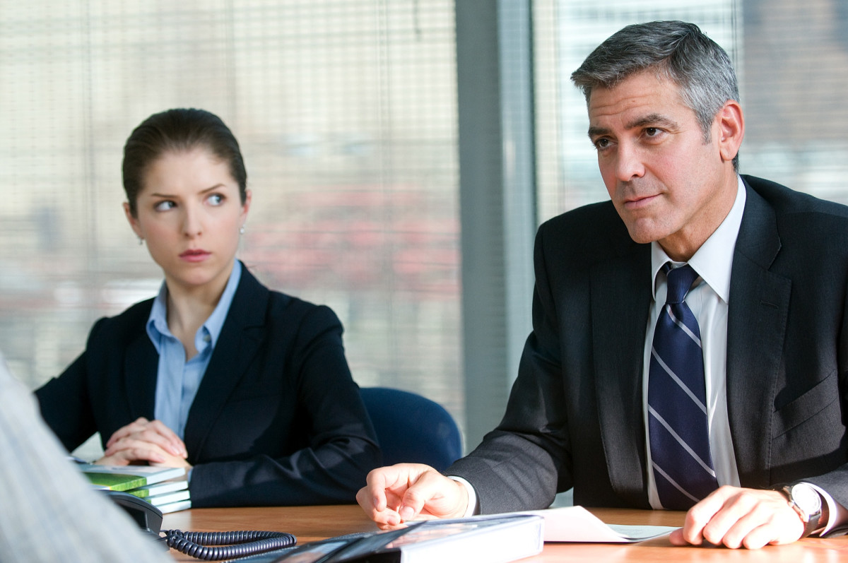 Anna Kendrick and George Clooney Photo Courtesy of Focus Features