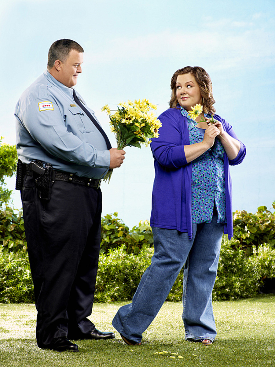 Billy Gardell and Melissa McCarthy in Mike & Molly Photo Courtesy CBS
