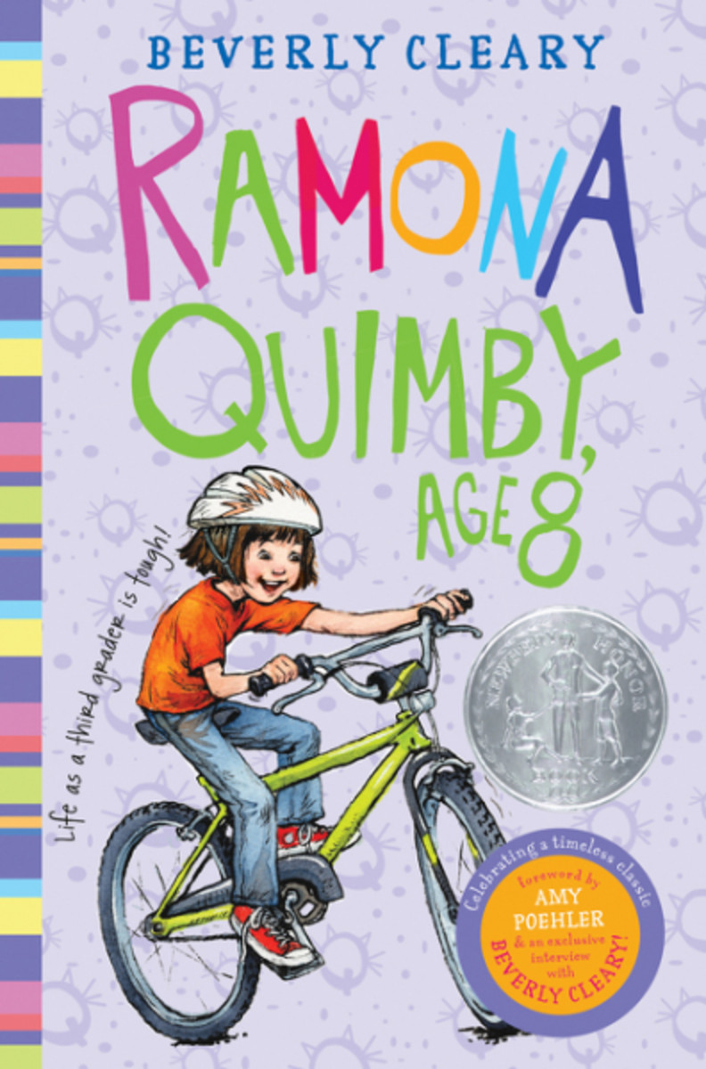 Beverly Cleary Ramona Quimby, Age 8 Photo Courtesy HarperCollins Publishers