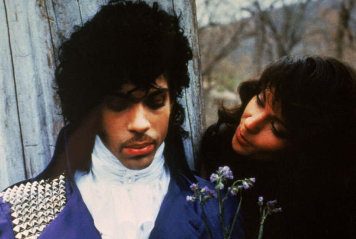 Prince and Apollonia in Purple Rain Photo Warner Brothers/Photofest © Warner Brothers Photographer Robert Reiff