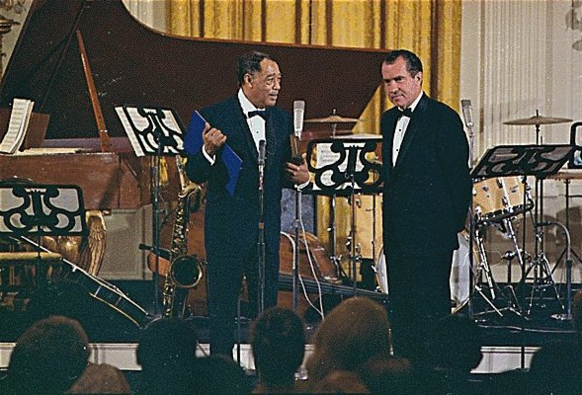 Duke Ellington Richard Nixon Photo