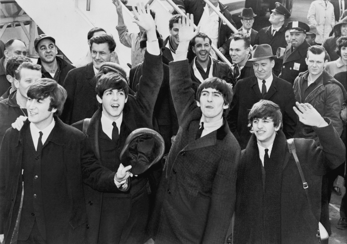 The Beatles in America Photo by United Press International [Public Domain] via Wikimedia Commons