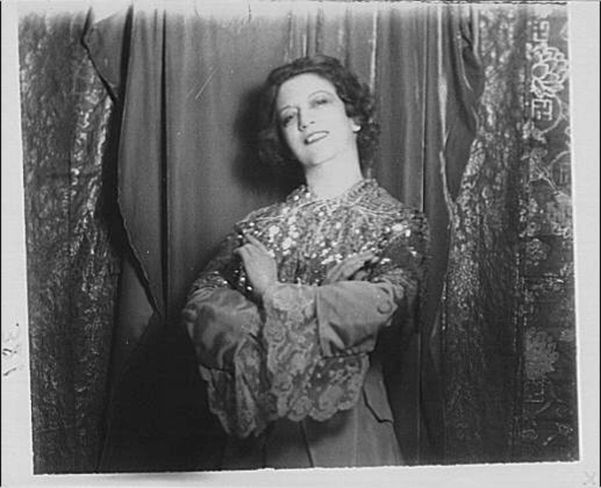 Elizabeth Arden Photo by Arnold Genthe/Library of Congress