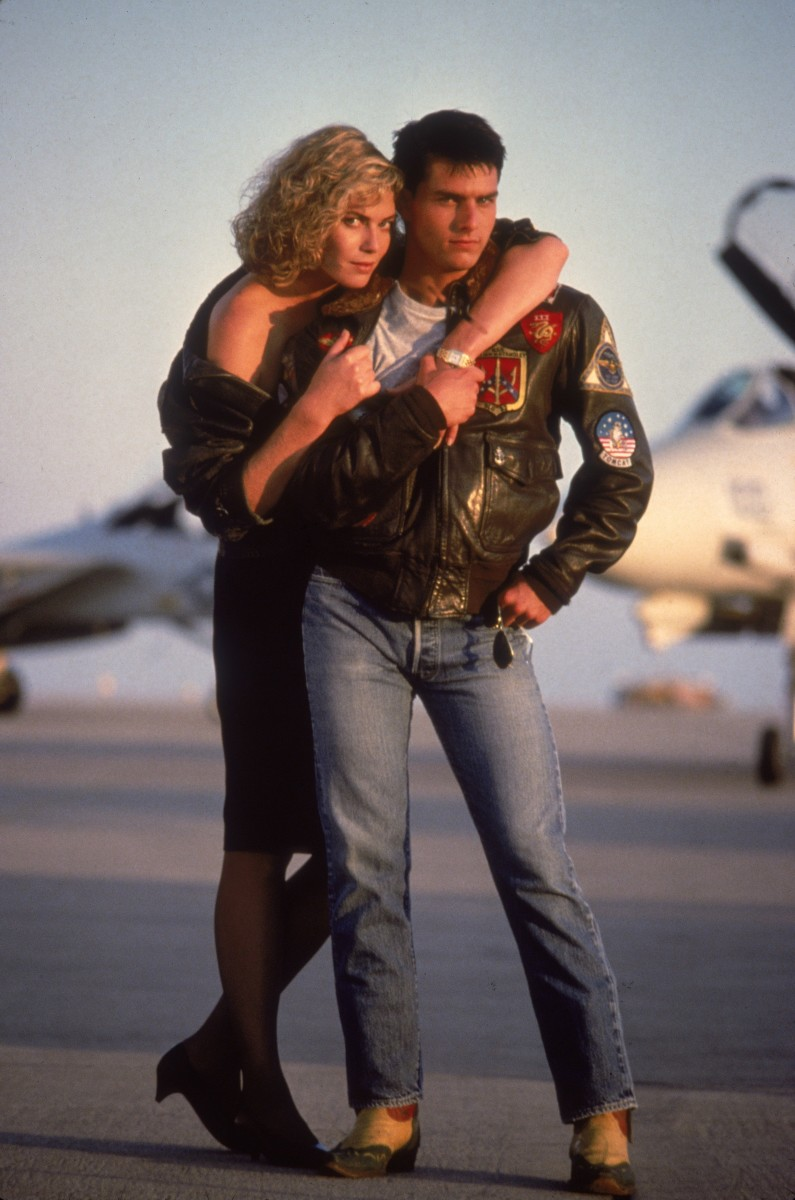 Top Gun Tom Cruise Photo