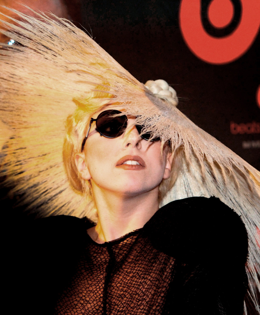 Lady Gaga Photo by Domain Barnyard via Wikimedia Commons