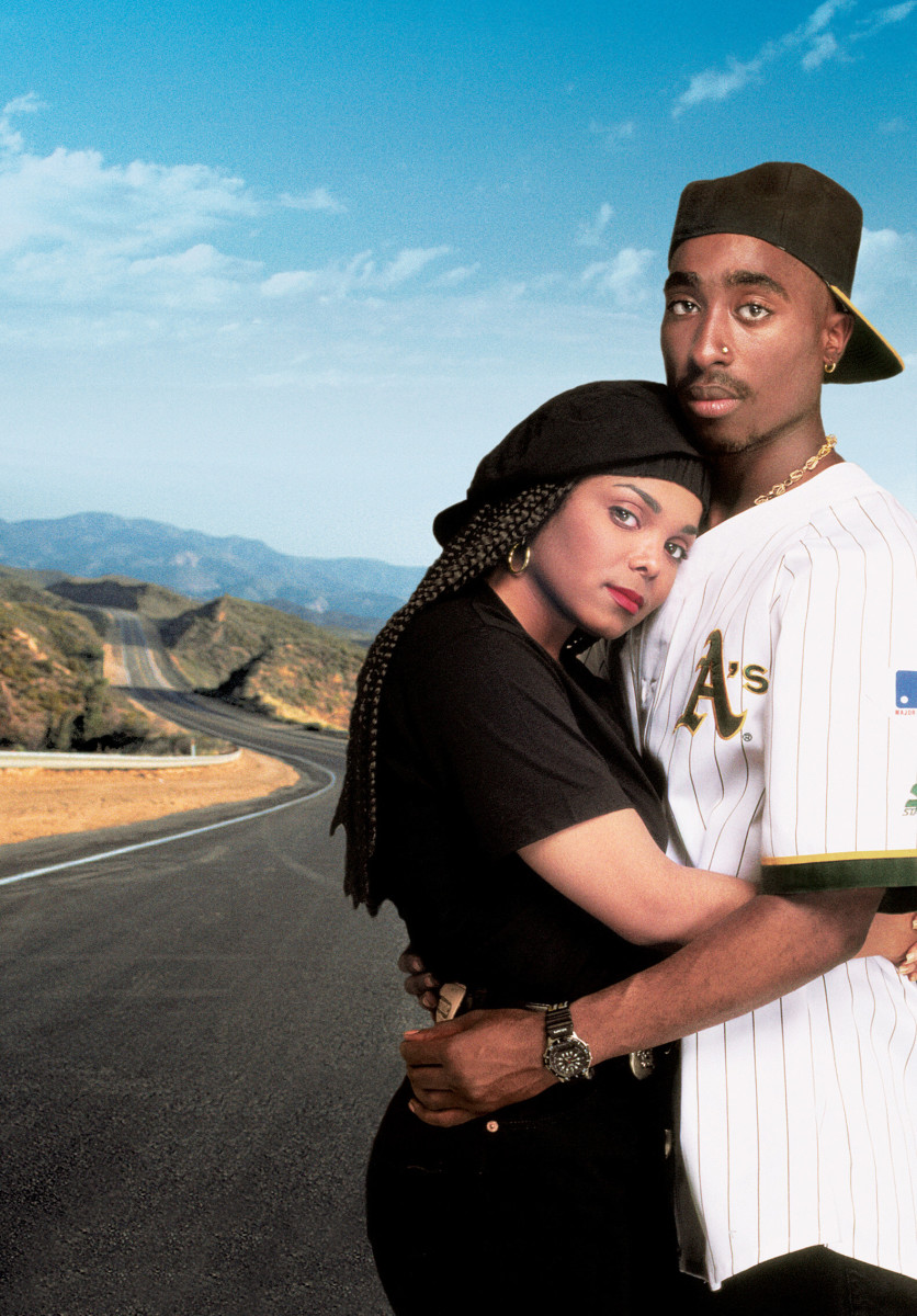 Janet Jackson and Tupac Shakur in Poetic Justice (1993) Photo Courtesy Photofest